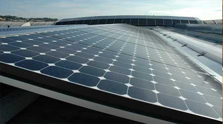 Fotovoltaico orizzontale Centroservice